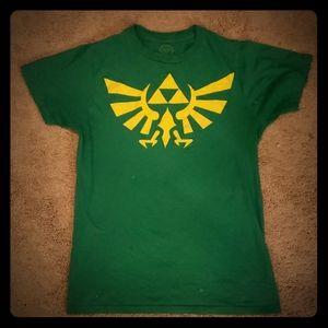 Legend of Zelda Crest of Hyrule graphic Tee